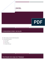 Seguridad en Excel