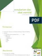 Kuliah Obat Esensial Dan Formularium