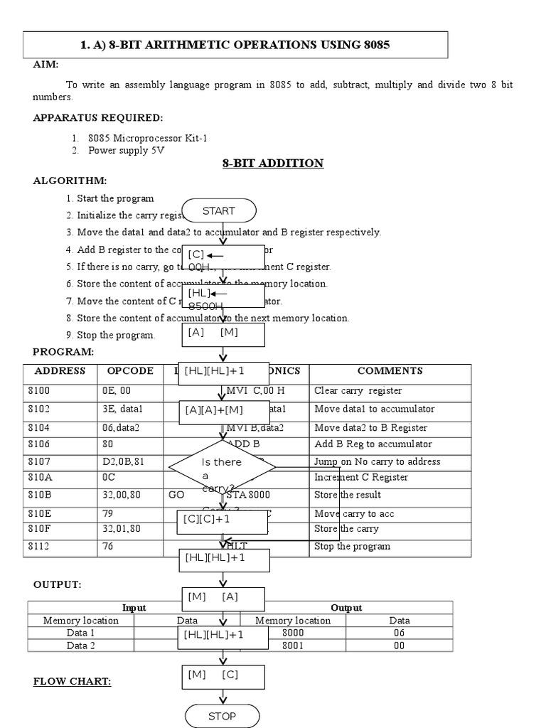 2 Eee Vi Sem Lab Manualdoc Analog To Digital Converter Division Circuitdiagramtointerfacebluetoothwith8085 Mathematics