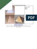 Modelos de Papel de Pirámides Cuadrada