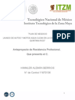 Plan de Negocios Aqua Clean