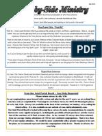 Newsletter, July 2015