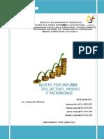 Los Ajuste Por Inflación Trabajo Practico Mailen Petit