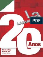 Catalogo Escolar Lamasb 2015-2016