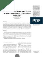 Apuntes Para Un Mapa Intelectual de Chile Durante El Centenario