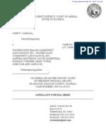 Appellants Initial Brief Seeking Injunction