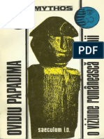 Ovidiu Papadima-O Viziune Romaneasca a Lumii. Studiu de Folclor-Editura SAECULUM (1995)
