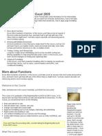 MS Excel - Intermediate Course