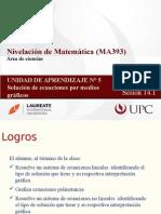 MA393 2015-1 Sesion 14.1 Solución de Ecuaciones Por Medios Gráficos