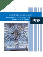 COMPÊNDIO DE ATIVIDADES INTERDISCIPLINARES DO CURSO DE DIREITO