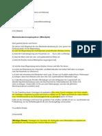 Mubr 2014 Mietzins Senkungsbegehren Unterlagen