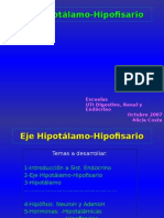 Eje Hipotalamo Hipofisario[1] medicina
