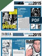 Proximas Novedades Ivrea - Julio 2015