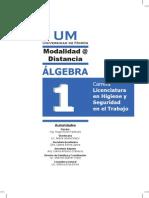 Algebra I Universidad de Morón