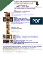 2015 -2 - Novedades Biblioteca