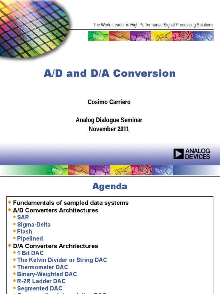 Converters   Analog To Digital Converter   Digital To Analog