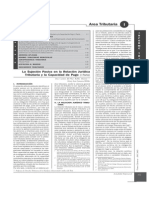 La Sujecion Pasiva en La Relacion Juridico Tributaria y La Capacidad de Pago I