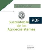 Sustentabilidad de los Agroecosistemas