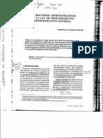 Los Recursos Administrativos en La LPAG 1