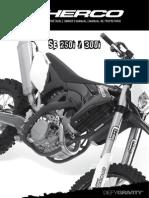 2012 Manual_Sherco_SE250_300