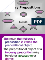 German - Two-Way Prepositions.pps