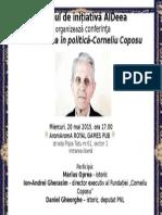 Dezbatere Corneliu Coposu