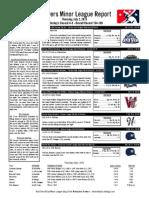Minor League Report 15.07.02