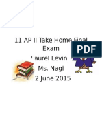 11 ap ii take home final exam