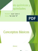 Enlaces Químicos y Propiedades Diapositivas
