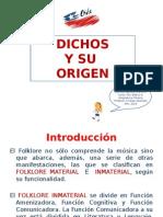 PRESENTACIÓN DICHOS