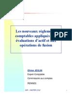 Fusion Et Valuation Des Actifs_Pour IGR