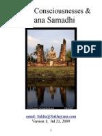 The Six Consciousness and Jhana Samadhi