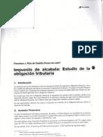 Impuestto de Alcabala Estudio de La Obligacion Tributaria