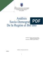 Analisis Sociodemográfico Región Del Bío Bío