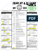 Glastonbury CT School Calendar 2009 - 2010