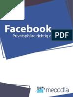 Facebook - Privatsphäre Richtig Eingestellt