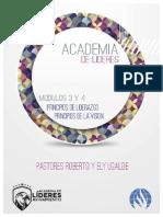Academia de Lideres Modulos 3 y 4