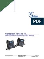 Manual Usuario Grandstream GXP1405