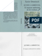 Quimica Ambiental, El Impacto Ambiental de Los Residuos - FL