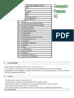 Grammaire DELF A2