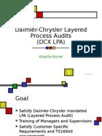Daimler-Chrysler Layered Process Audits(2)