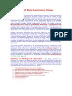 Microsoft Global E-governance Strategy