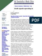 2006 CIA Death Squads in Iq