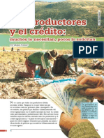 Los productores  y el crédito