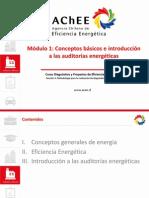 Curso auditorías y proyectos de Eficiencia Energetica