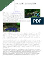 Monde civilisation sur le jeu video minecraft pour 3ds