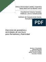 2013 Gr Cuadernillo de Gramatica Ciclo 2013