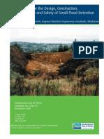 Guideline 200601 DesignConstructionMaintenaceSmallFloodDetentionDams