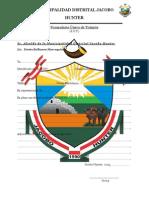 Municipalidad Distrital Jacobo (Fut)
