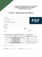TCC I - Avaliação Da Banca 2015-1